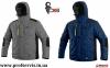 Зимова куртка CXS Baltimore сіра 11