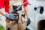 Защитные перчатки черные 1002 6