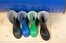 Чоботи гумові  зелені 5