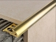 Наружный латунный  профиль НЛП-12 для плитки   0