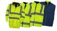 Рабочая сигнальная куртка 7 в 1 Желтая (Польща) 6