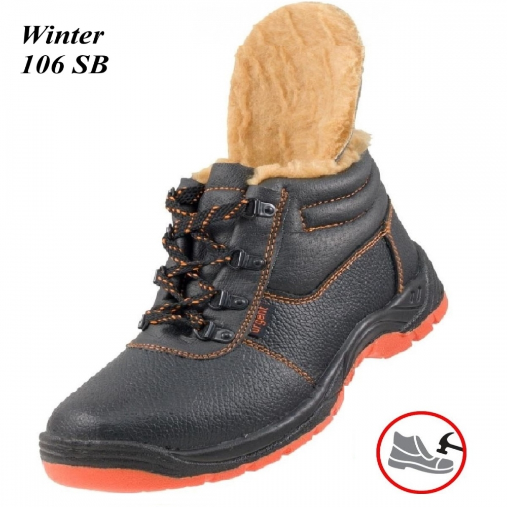 Робоче взуття з металевим носком Winter 106SB Зима - купити 6868c3c8c9973