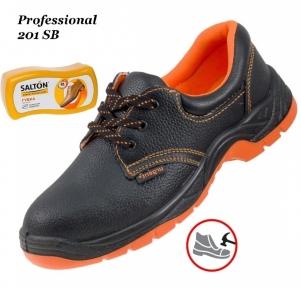 Рабочая обувь с металлическим носком Professional 201 SB + Губка SALTON в подарок