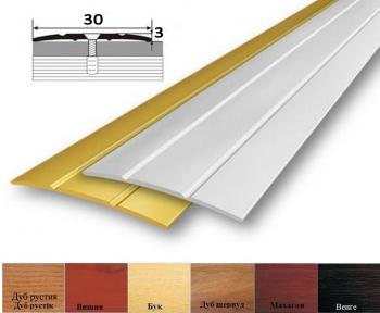 Алюмінієвий профіль АП_005 стикувальний (прямий) 28 мм x 3мм