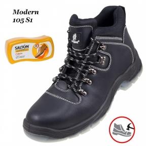 Рабочая обувь с металлическим носком  Modern 105S1 + Губка SALTON в подарок