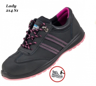 Робоче взуття  з металевим носком  Lady 214 S1
