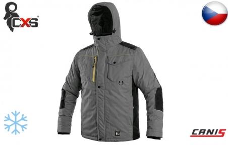 Зимова куртка CXS Baltimore сіра