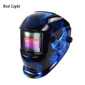 Маска-шлем для сваривания Red Light (Китай)