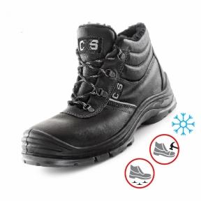 Зимове робоче взуття з металевим носком та антипрокольною підошвою