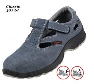 Робоче взуття  з металевим носком Classic 302 S1
