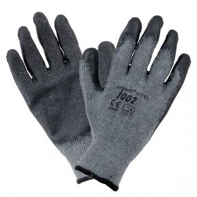 Защитные перчатки черные 1002