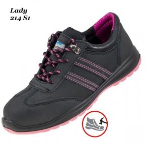 Рабочая обувь с металлическим носком – Lady 214 S1