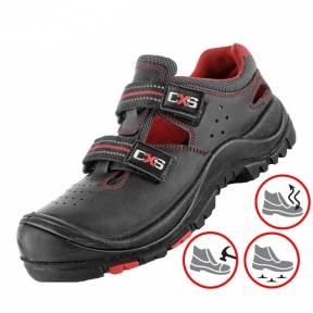 Робоче взуття з композитним носком та антипрокольною підошвою