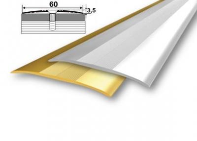 Алюмінієвий стикувальний профіль (прямий) 60мм x 4,2мм А_060