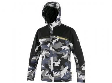 Куртка CXS DIXON, сіро-біла (камуфляж)