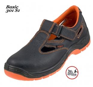 Робоче взуття  з металевим носком Basic 301 S1