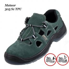 Рабочая обувь с металлическим носком  Meteor 305 S1 TPU