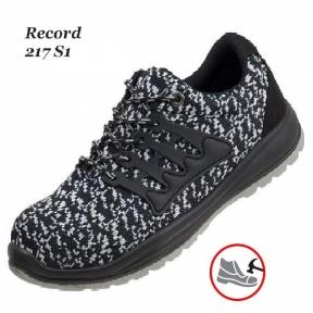 Робоче взуття  з металевим носком Rekord black 217 S1