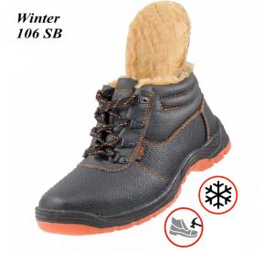 Робоче взуття з металевим носком Winter 106 SB Зима