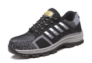 Чоловічі кросівки з металевим носком Чорні (29,5 cм)  (Китай)