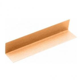 Двосторонній кутовий профіль ПВХ Line Plast 20мм x 20мм