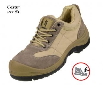 Рабочая обувь с металлическим носком Cezar 211 S1