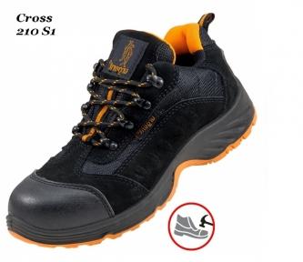 Рабочая обувь с металлическим носком Cross 210 S1