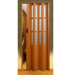 Двері-гармошка  Symfonia  203*86 см (скло)