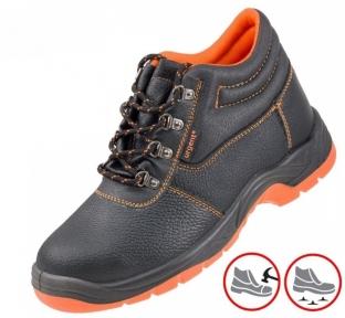 Рабочая обувь с металлическим носком и антипрокольной подошвой