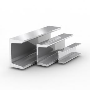 Швеллер алюмінієвий