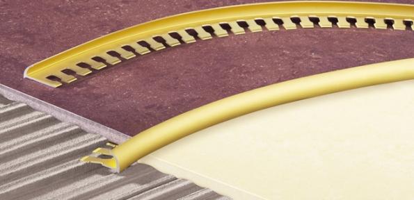Профиль 10мм внешний угловой арочный ПЛ 202