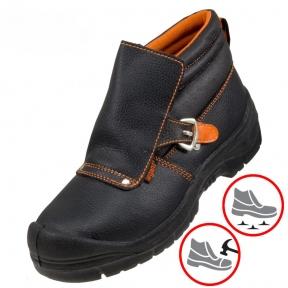 Робоче взуття з металевим носком та антипрокольною підошвою