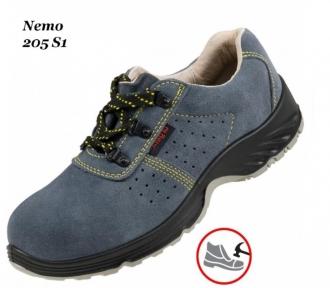 Рабочая обувь с металлическим носком  Nemo 205 S1