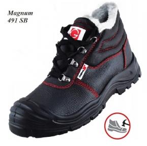 Рабочая обувь с металлическим носком  Magnum  491 S1