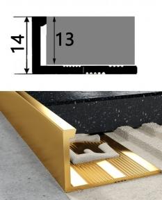 Латунний профіль  ЛП-12 ( облицювальний )