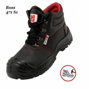 Робоче взуття з металевим носком Boss 471 S1