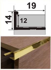 Латунний профіль (облицювальний) ЛП-12