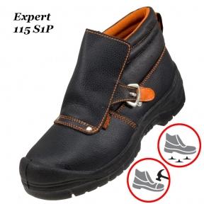 Рабочая обувь с металлическим носком  Expert 115 S1P