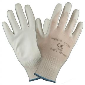 Захисні рукавиці білі 1008