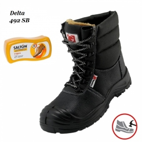 Робоче взуття з металевим носком Delta 492 SВ + Губка SALTON в подарунок