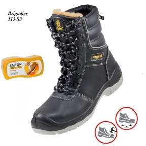 Робоче взуття з металевим носком Brigadier 113S3 + Губка SALTON в подарунок 92a5ce37aa6b3