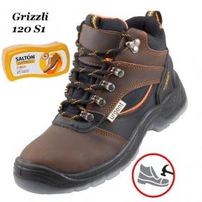 Рабочая обувь с металлическим носком Grizzli  120S1 + Губка SALTON в подарок