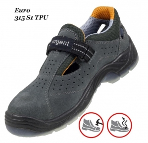 Робоче взуття  з металевим носком Euro 315 S1 TRU