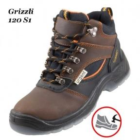 Робоче взуття з металевим носком Grizzli 120 S1