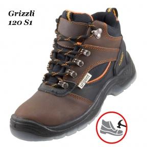 Робоче взуття з металевим носком Grizzli 120S1