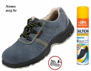Робоче взуття з металевим носком Nemo 205S1 + Захист від води SALTON в  подарунок 96d6b2931fe0b