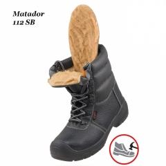 Робоче взуття з металевим носком Matador 112SB Зима + Губка SALTON в  подарунок cc6062690bfe2