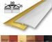 Алюминиевый стыковочный профиль (полукруглый) 30мм x 5,4мм АП-016
