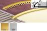Профиль ПЛ 202 Арочный 10мм Внешний угловой